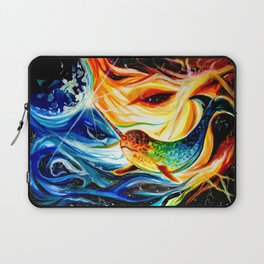 Space Narwhal Laptop Sleeve