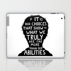 Harry Potter choices quote  Laptop & iPad Skin