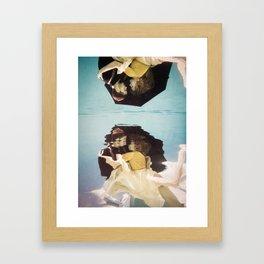 We Fell Framed Art Print