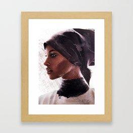 Jasmine Warsame Framed Art Print