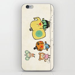 Walking with you iPhone Skin