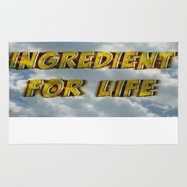 Oxygen Ingredient for Life Rug