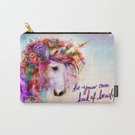 Garden of the Wild ~ Unicorn Carry-All Pouch