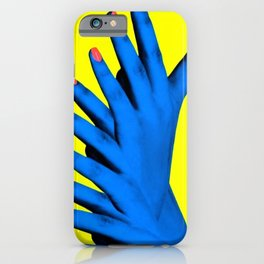 Hand Job iPhone Case