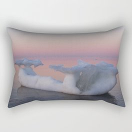 Viking Iceberg Ship Rectangular Pillow