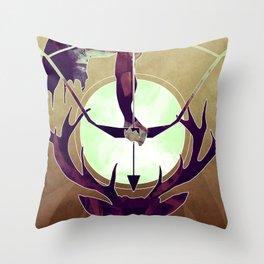 Artemis - The Huntress Throw Pillow