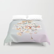 Bro Down, Broad Up Duvet Cover