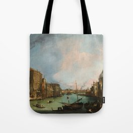 Canaletto Bernardo Bellotto - The Grand Canal In Venice Tote Bag