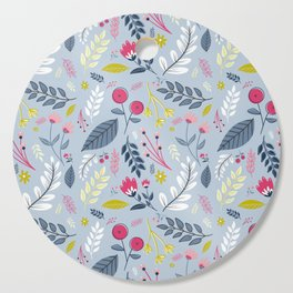 Clea Laine Floal Print Cutting Board