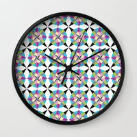 morocco Wall Clocks featuring MOROCCO STARS by Heaven7