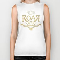 lannister Biker Tanks featuring Game of Type by Jango Snow