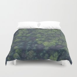 The Forest Aerial (Color) Duvet Cover