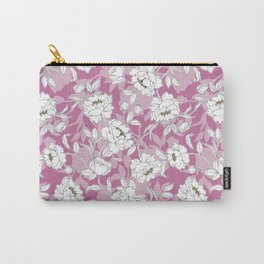 Gentle flora Carry-All Pouch