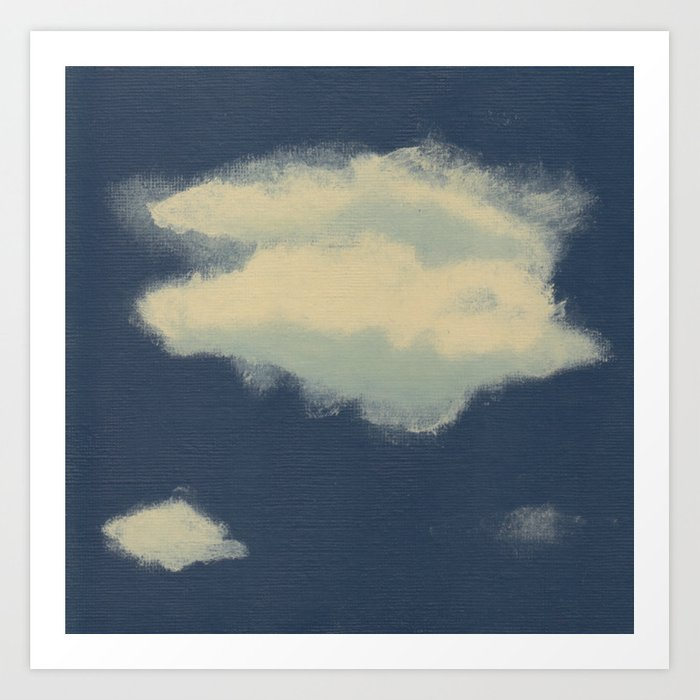 Dare to Dream - Cloud 4 of 100 Art Print
