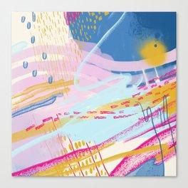 Totemo Genki Canvas Print