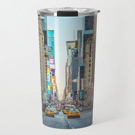 Sunset on 7th Avenue Travel Mug