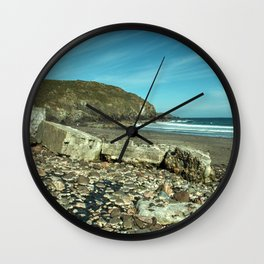 Kennack sands tank wall Wall Clock