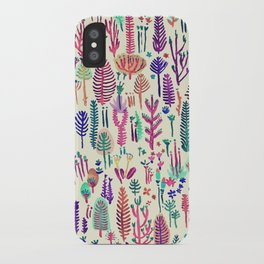 tropical poisen plants iPhone Case