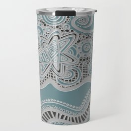 Just a Squiggle Here and There Travel Mug