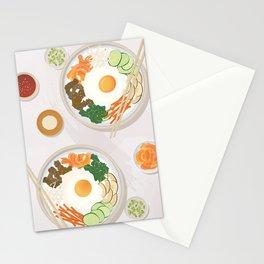 Bibimbap Bowl Stationery Cards