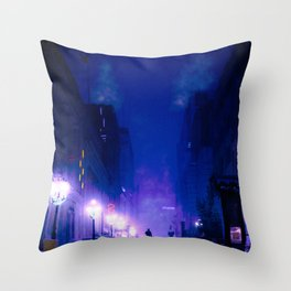 is this how it ends Throw Pillow