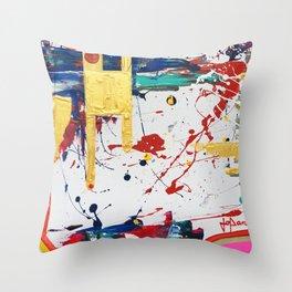 Juxtapose #2 Throw Pillow