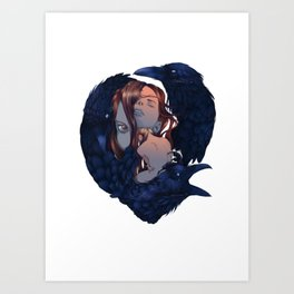 Brenna/Maura Art Print