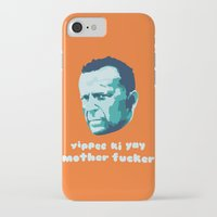 die hard iPhone & iPod Cases featuring Die Hard Yippee Ki Yay by Ariel Wilson