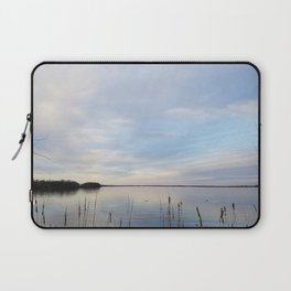 Twilight Serenity - Clouds and reflections on University Bay Laptop Sleeve