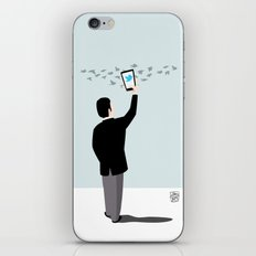 Serial Twitter iPhone & iPod Skin