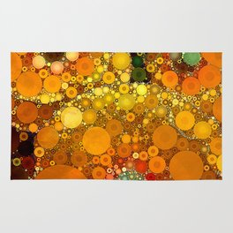 Sunset Poppies Rug