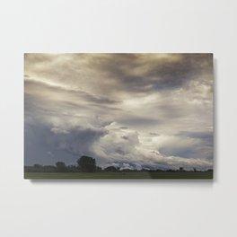 Moody Sky Metal Print
