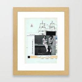 Juliett • – – – Framed Art Print