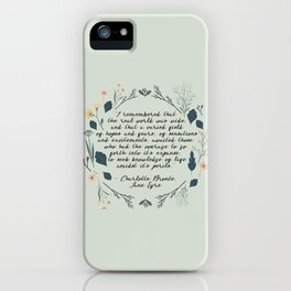 The World Was Wide iPhone Case