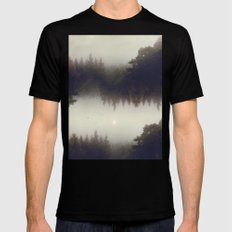 Forest dreams Black MEDIUM Mens Fitted Tee