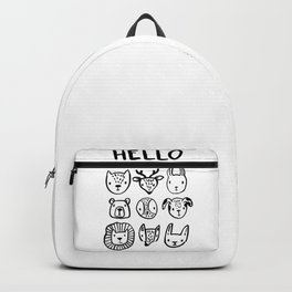 Say Hello Backpack