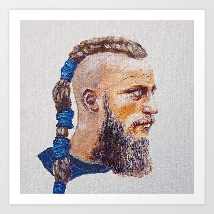Viking Warrior Art Print By Oneill51