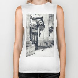New York City Snow Globe Biker Tank