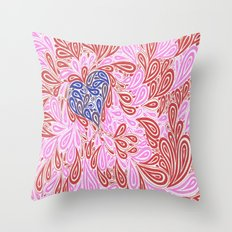 They Say Opposites Attract But Likes Are Compatible Throw Pillow