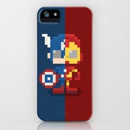 Civil Pixel War iPhone Case