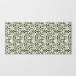 Triaxial Tessellated Turnips w/Purple smallscale Canvas Print