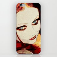 harley iPhone & iPod Skins featuring Harley by Sirenphotos