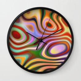 Psychedelic Liquid Lava Wall Clock