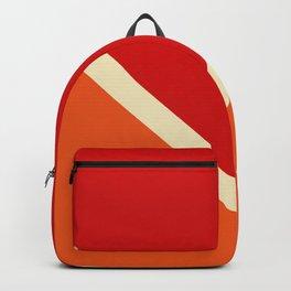 Summer Sun Retro Style Stripes Amaterasu Backpack