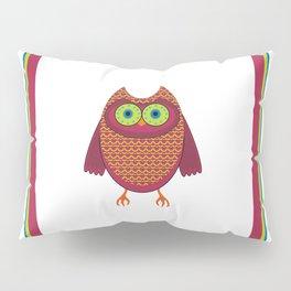 Ronin the Owl Pillow Sham