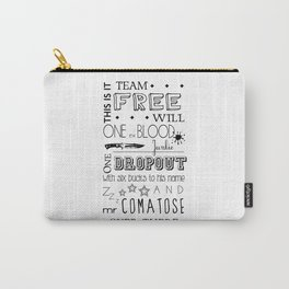 Team Free Will Carry-All Pouch