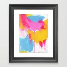 color study, may 2014 Framed Art Print