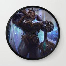 God King Garen League of Legends Wall Clock