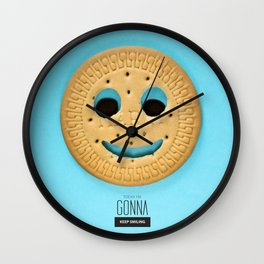Today I'm Gonna KEEP SMILING Wall Clock