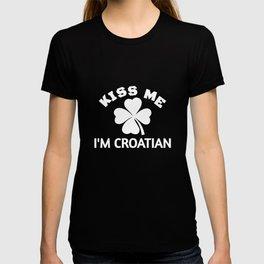 Kiss Me I'm Croatian T-shirt